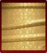 Metallic Brocade Fabric - 450-GS-GS-GM