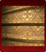 Metallic Brocade Fabric - 455-GS-BR-GM