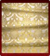 Metallic Brocade Fabric - 460-WS-GS-GM