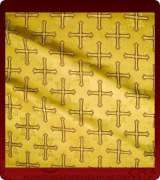 Metallic Brocade Fabric - 470-GS-BR-GM