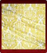 Metallic Brocade Fabric - 485-WS-NO-GM