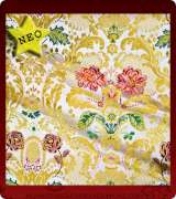 Metallic Brocade Fabric - 490-WS-WS-GM