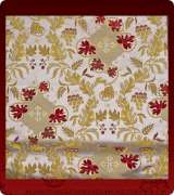 Metallic Brocade Fabric - 495-WS-WS-GM