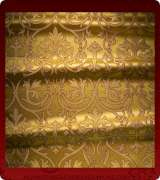Metallic Brocade Fabric - 500-GS-BR-GM