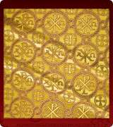 Metallic Brocade Fabric - 505-GS-BR-GM