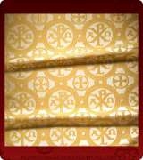 Metallic Brocade Fabric - 505-WS-GS-GM