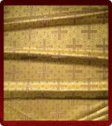 Metallic Brocade Fabric - 510-GS-BR-GM