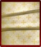 Metallic Brocade Fabric - 510-WS-GS-GM