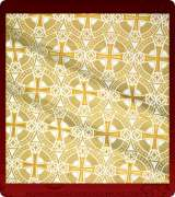 Metallic Brocade Fabric - 515-WS-GS-GM