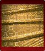 Metallic Brocade Fabric - 530-GS-BR-GM