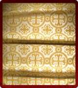 Metallic Brocade Fabric - 530-WS-GS-GM