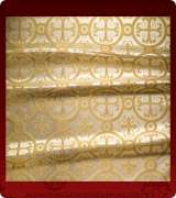 Metallic Brocade Fabric - 530-WS-WS-GM