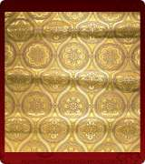 Metallic Brocade Fabric - 535-GS-BR-GM