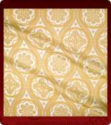 Metallic Brocade Fabric - 535-WS-GS-GM