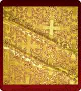 Metallic Brocade Fabric - 540-GS-BR-GM