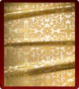 Metallic Brocade Fabric - 540-WS-GS-GM