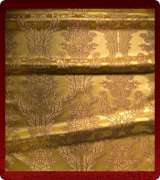 Metallic Brocade Fabric - 550-GS-BR-GM