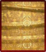 Metallic Brocade Fabric - 555-GS-BR-GM