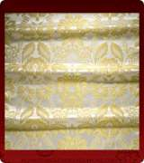 Metallic Brocade Fabric - 555-WS-WS-GM