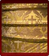 Metallic Brocade Fabric - 560-GS-BR-GM