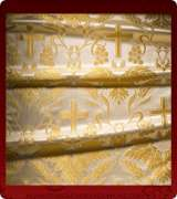 Metallic Brocade Fabric - 560-WS-WS-GM