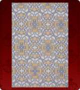 Metallic Brocade Fabric - 565-WS-DB-GM