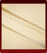 Metallic Brocade Fabric - 575-WS-GS-GM