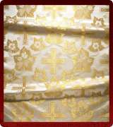 Metallic Brocade Fabric - 580-WS-GM-GM