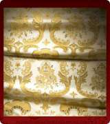 Metallic Brocade Fabric - 585-WS-WS-GM