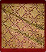 Metallic Brocade Fabric - 590-GS-BR-GM