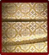 Metallic Brocade Fabric - 590-WS-GS-GM