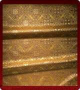 Metallic Brocade Fabric - 595-GS-BR-GM