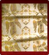 Metallic Brocade Fabric - 600-WS-GS-GM