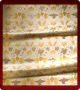 Metallic Brocade Fabric - 605-WS-GS-GM