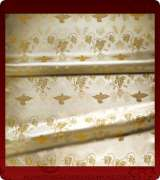 Metallic Brocade Fabric - 605-WS-WS-GM
