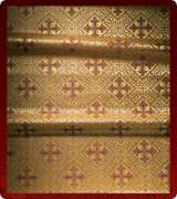 Metallic Brocade Fabric - 610-GS-BR-GM