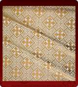 Metallic Brocade Fabric - 610-WS-GS-GM