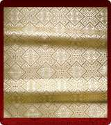 Metallic Brocade Fabric - 610-WS-WS-GM