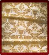 Metallic Brocade Fabric - 615-WS-GS-GM