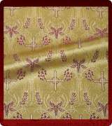 Metallic Brocade Fabric - 620-GS-BR-GM