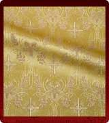 Metallic Brocade Fabric - 620-GS-GS-GM