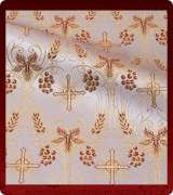 Metallic Brocade Fabric - 620-WS-BR-GM