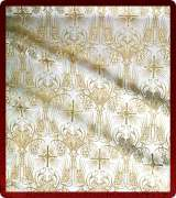 Metallic Brocade Fabric - 620-WS-WS-GM