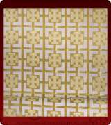 Metallic Brocade Fabric - 635-WS-WS-GM