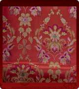 Metallic Brocade Fabric - 430-RD-BR-GM