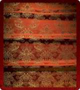 Metallic Brocade Fabric - 545-RD-BR-GM