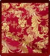 Metallic Brocade Fabric - 640-RV-NO-GM