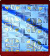 Metallic Brocade Fabric - 340-LB-DB-GM
