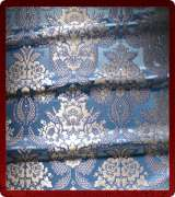 Metallic Brocade Fabric - 355-LB-DB-SM