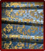 Metallic Brocade Fabric - 360-LB-DB-GM